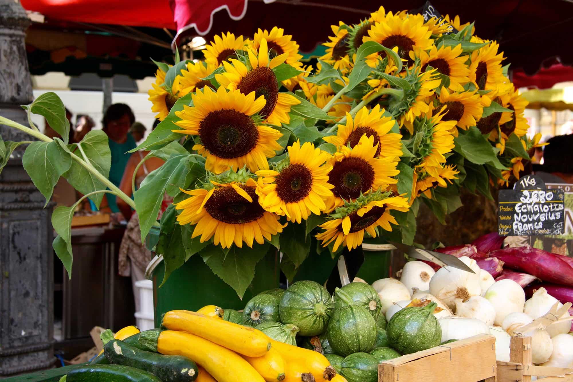 marché aix en provence